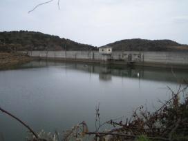 見島ダムの写真です。