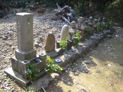 七名塚(チンチキ堂)の写真です。