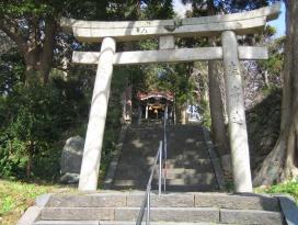 大島八幡宮の写真